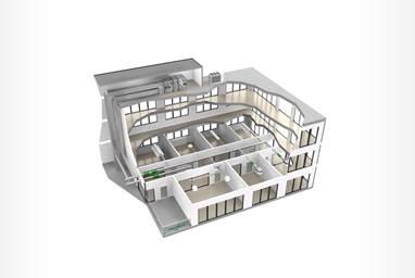 fläktgroup open plan office