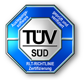 TUV certification icon for flaktgroup